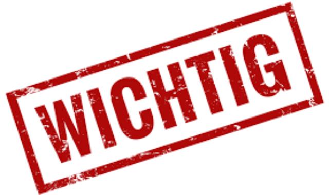 Schließung der Geschäftsstelle und aller Sportinfrastrukturen