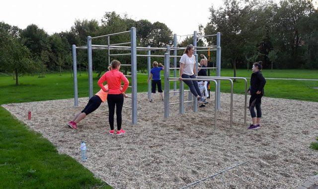 Offenes Training im Josephine Koch Park mit den BarAnimals